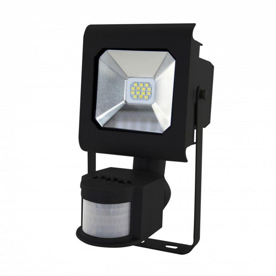 ЭРА PRO прожектор св/д с датчиком движ. 10W(900lm) 2700K 2K SMD IP65 121x194x124 LPR-10-2700К-М-SEN