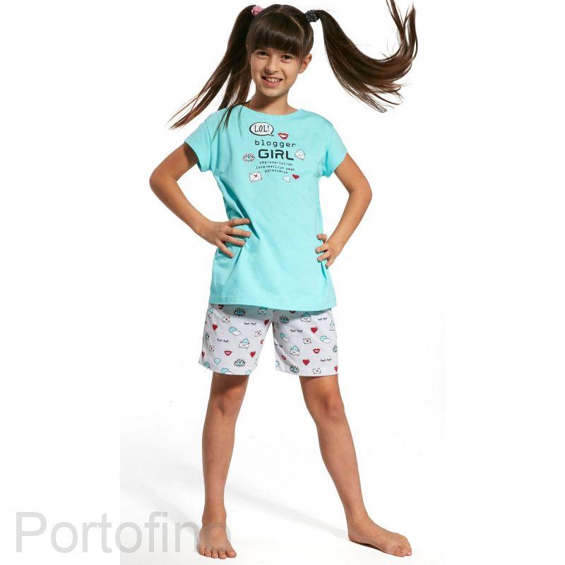 787-56 Пижама для девочек Cornette