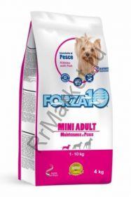 Forza10 Maintenance для взрослых собак мелких пород из океанической рыбы (тунец, треска, лосось)