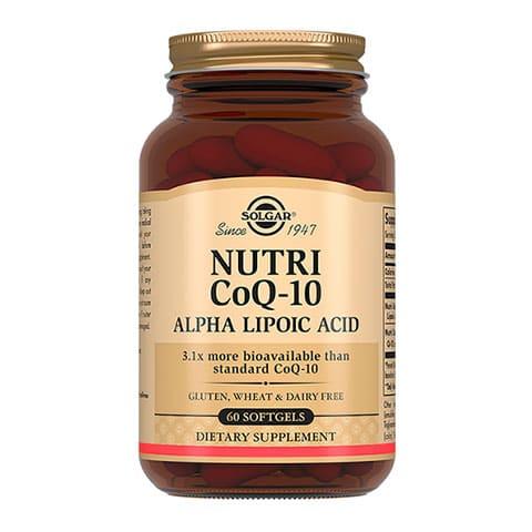 Нутрикоэнзим Q-10 с Альфа-Липоевой кислотой