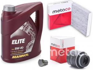 Набор для ТО-1+Масло Mannol Metaco Volkswagen Polo Sedan / Rapid