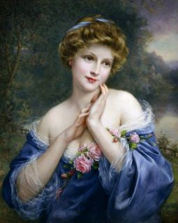 Летняя роза ( Репродукция Франсуа Мартина-Кавеля)