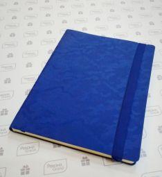 синие бизнес-блокноты с паттерном камуфляж Tabby Biggi
