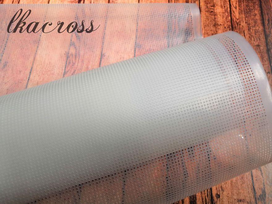 Водорастворимая канва. Основа для вышивания на трикотаже.