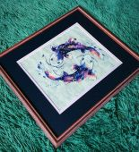 "Cross stitch pattern ""Cosmic harmony""."