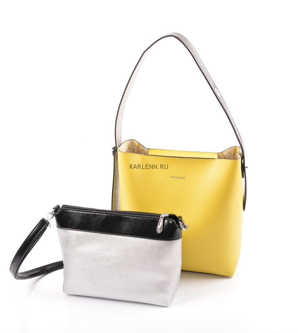 Сумка в сумке B.Oalengi (желтая)
