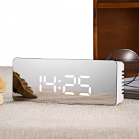 Цифровые часы TS-S69 с зеркальной лицевой панелью