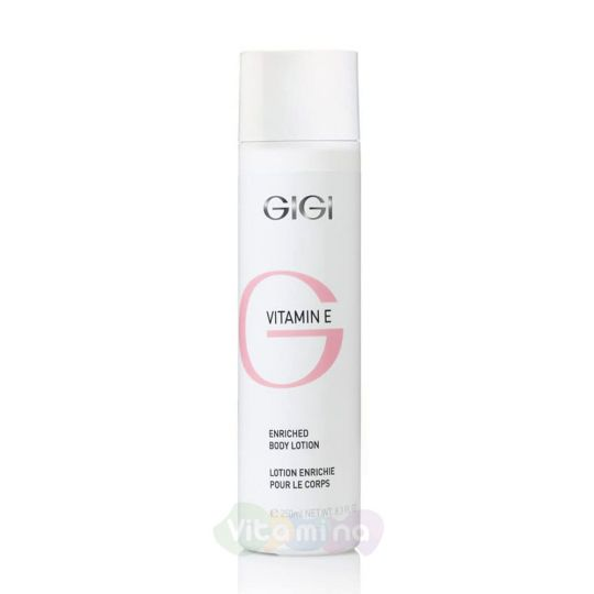 GiGi Крем для тела Vitamin E Body Lotion