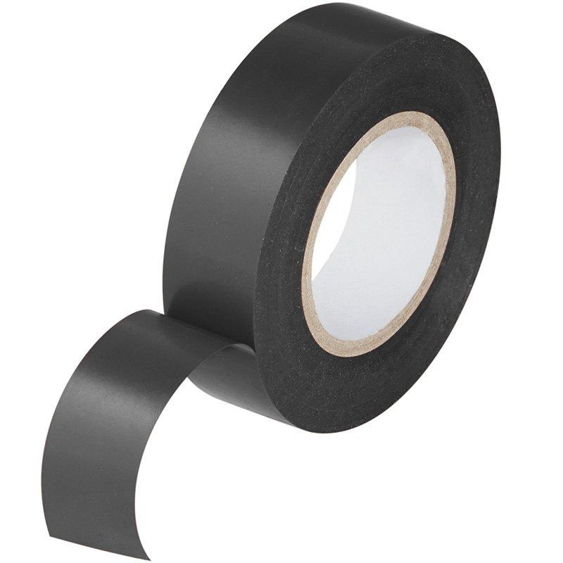 Изоляционная лента ПВХ 0,13х15 мм,17 м (упаковка 5 шт), цвет черный