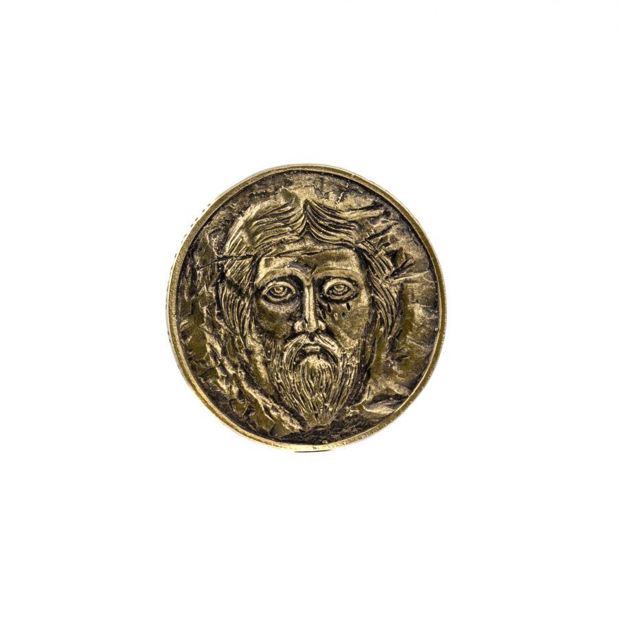 Монета лик Христа