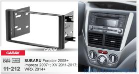 Carav 11-212 (2-DIN Subaru Forester 08+. Impreza 07+, XV 11+, WRX 14+)