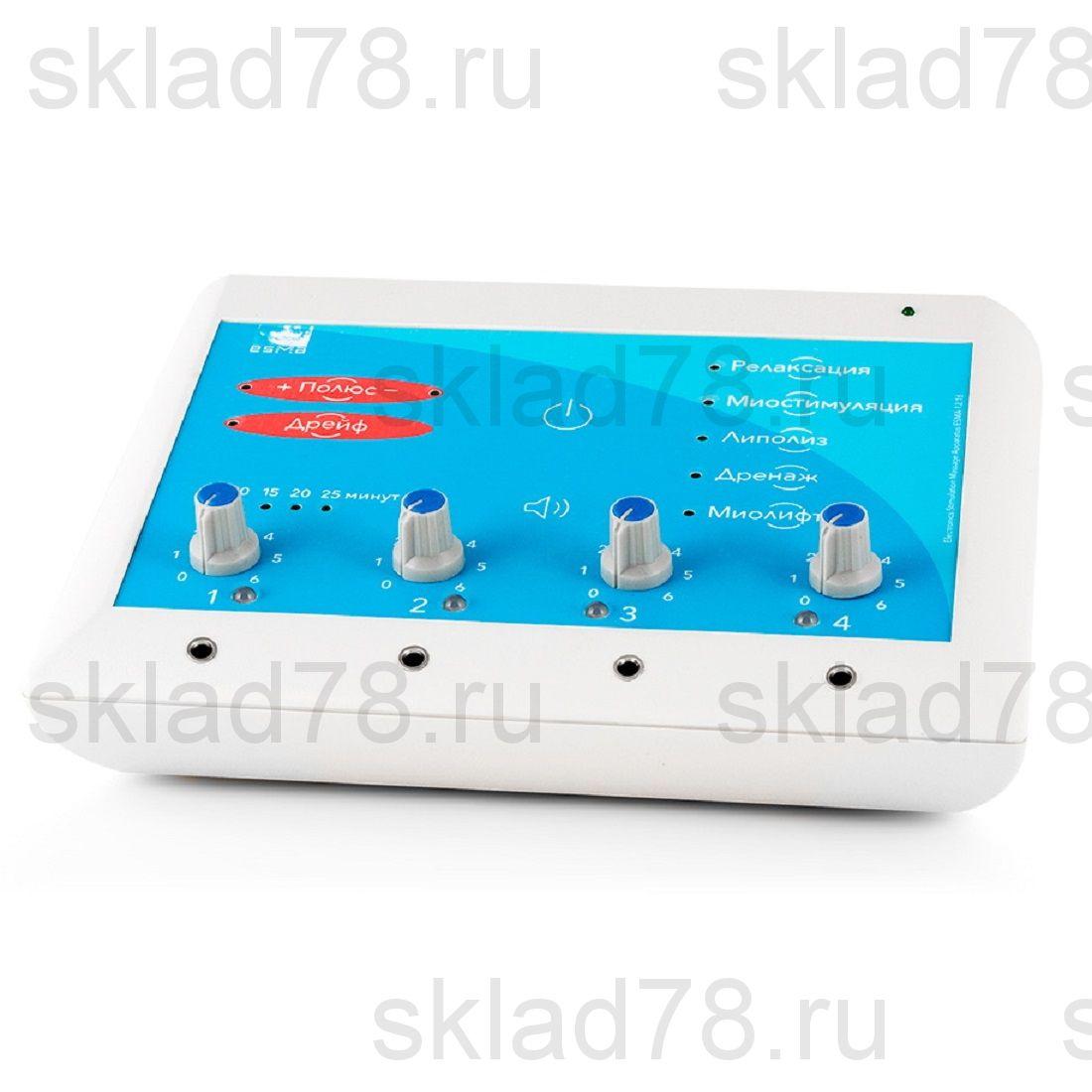Миостимулятор ESMA 12.16 модель УНИВЕРСАЛ