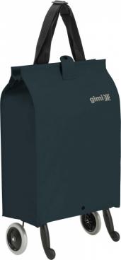 Сумка-тележка Gimi Brava Plus, сине-зеленый цвет