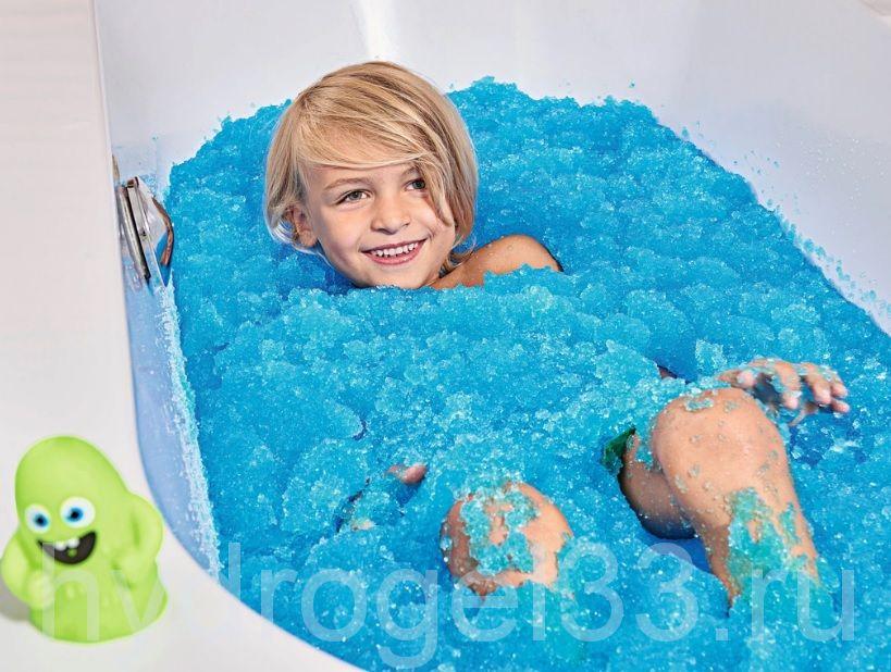 Желе для ванны Frolly Jolly голубое