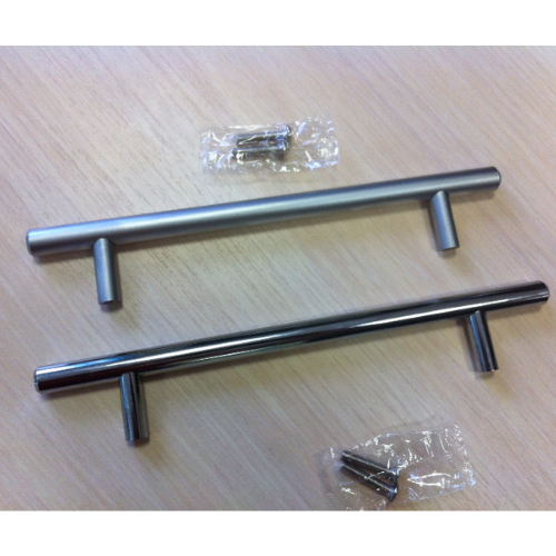 Ручка рейлинг D10 мм центр 480 общий 560, матовый хром