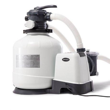 Песочный фильтр насос Intex 26652, 12 000 лч, 55 кг, New 2019