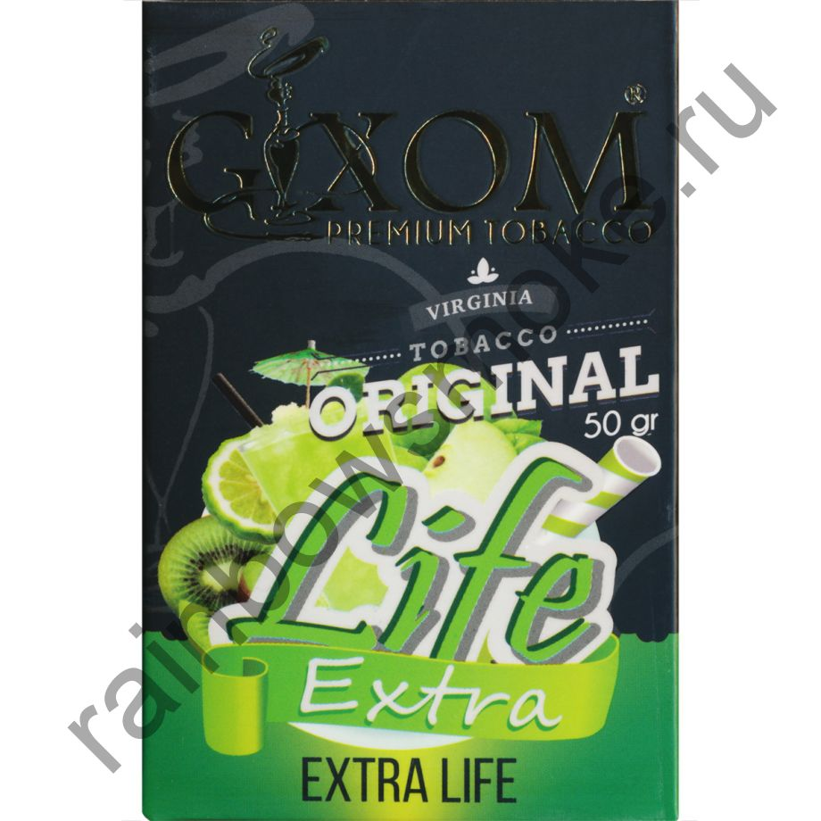 Gixom Original series 50 гр - Extra Life (Экстра Лайф)