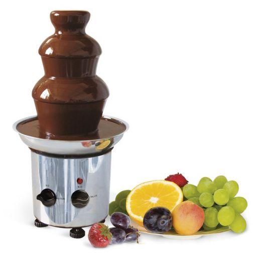 Шоколадный фонтан (фондю)