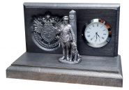 Настольные часы «Граница на замке». Пограничная служба.