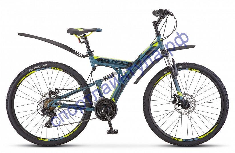 """Двухподвесный велосипед STELS Focus MD 27.5"""" 21-sp V010"""