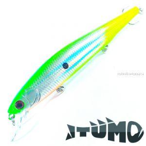 Воблер Itumo Ne-On 110F 110 мм / 12,8 гр / Заглубление: 0,8 - 1 м / цвет: 26
