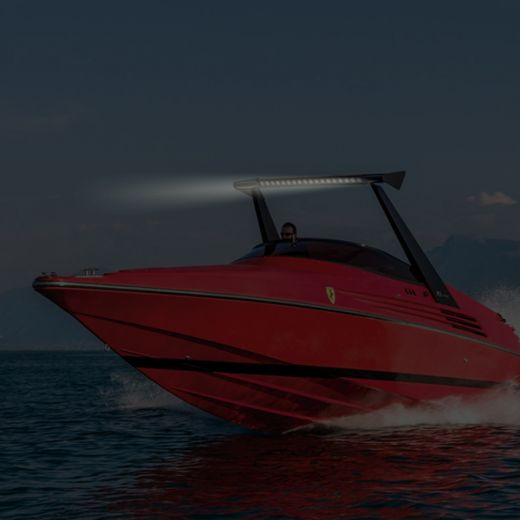 Светодиодные балки на катер, лодку