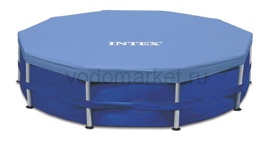 Тент для каркасных бассейнов Intex 457 см (28032)