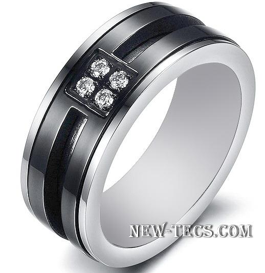Мужское кольцо 07-370ST001m