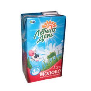 Молоко Летний день 3.2% т/п 950мл. Юнимилк