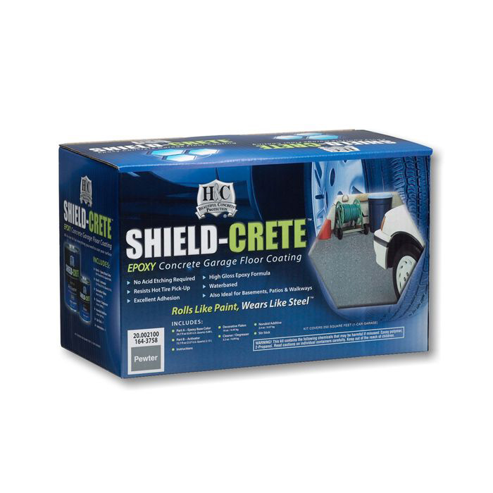 Эпоксид.покрытие д/полов в гаражах 20,102100-99 Sherwin-Williams H&C Shield-Crete