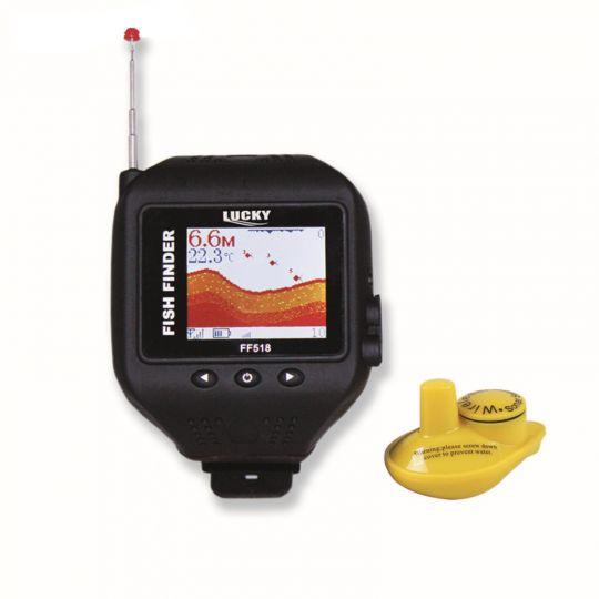 Эхолот Lucky FF518 Экран-часы