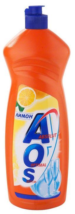 Ср-во д/посуды AOS 900мл Лимон