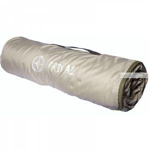 Плед Prival Пикник /флис + ткань с пл.покр., размер 170х145 см/