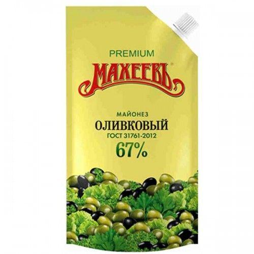 Майонез Махеев Премиум оливковый д/п 770г