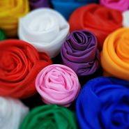 Шёлковый платок 30 см - разные цвета