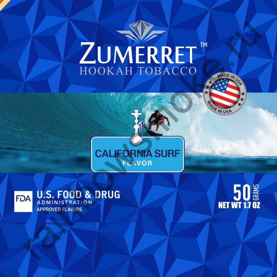 Zumerret Blue Edition 50 гр - California Surf (Калифорнийский Серфинг)