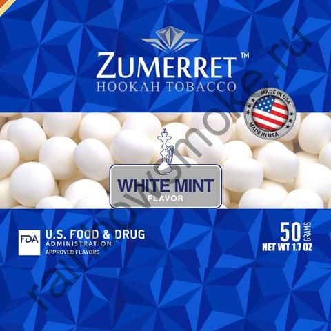 Zumerret Blue Edition 50 гр - White Mint (Белая Мята)