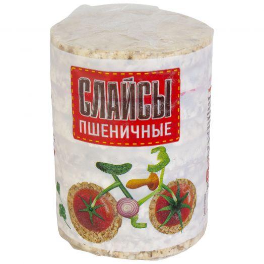 Хлебцы-слайсы пшеничные 75г Бийск