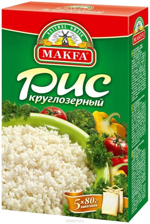 Крупа Макфа рис круглозерный 5*80г