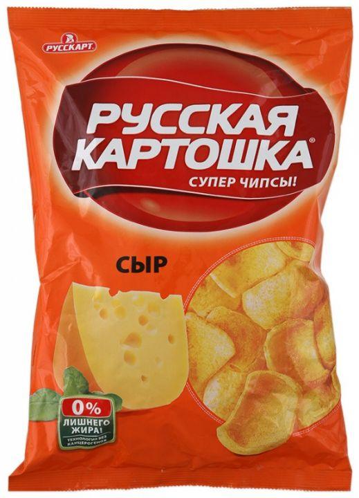 Чипсы Русская картошка сыр 80г