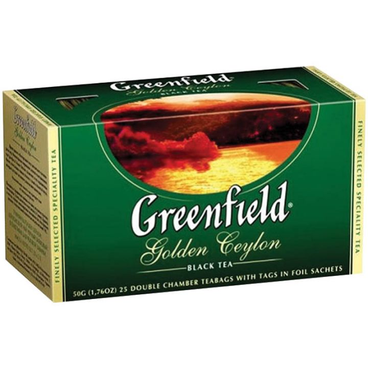 Чай Гринфилд Голден цейлон 25пак*2г