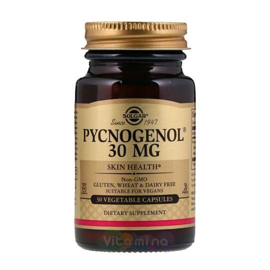 Солгар Пикногенол 30 мг, 30 капс