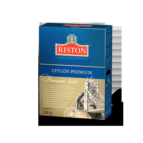 Чай Ристон Премиум Английский лист 200г