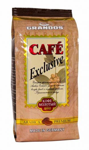 Кофе Grandos Exclusive зерно м/у 250г Германия