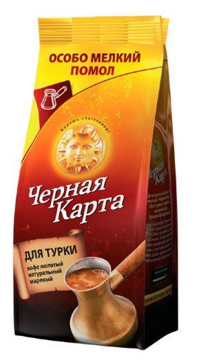 Кофе Черная карта молот д/турки м/у 250г
