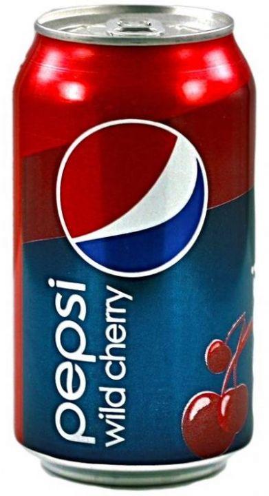 Газ. вода Пепси Дикая Вишня 0,33л ж/б Пепси
