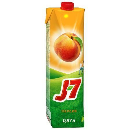 Нектар J7 0,97л Персик