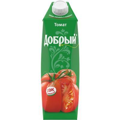 Сок Добрый 1л Томатный