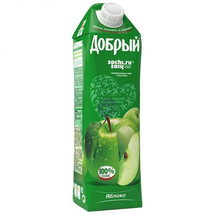 Сок Добрый 1л Яблочный