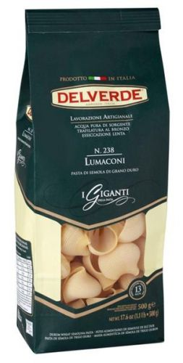 Макаронные изделия DELVERDE Lumaconi N.238 500g